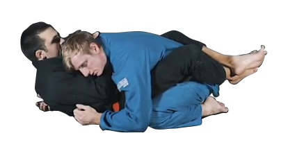 cross collar choke with whizzer